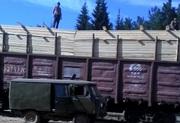 Пиломатериал хвойный (сосна) на вагоне из России